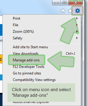 ie-settings Como remover My Quick Converter